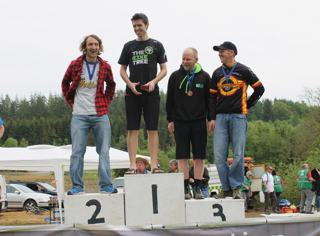 Kirroughtree Mens solo Podium